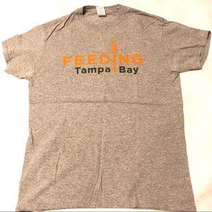 Feeding Tampa bay shirt size medium